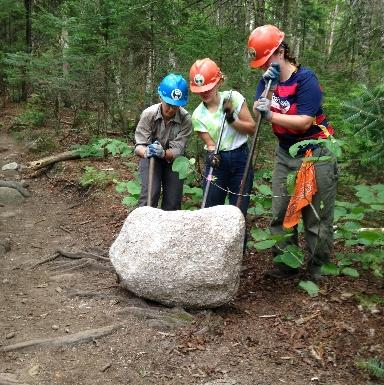 North Country Four-Week Leadership Teen Trail Crew (Ages 17-19)