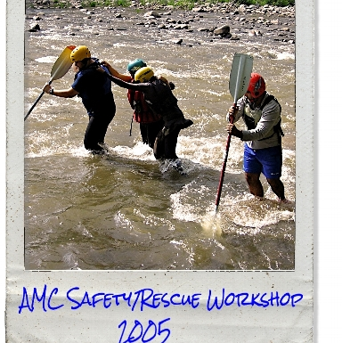 AMC Whitewater Safety & Rescue Workshop in 2005