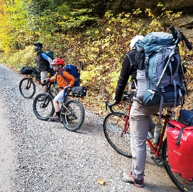 Family Bike-Packing.