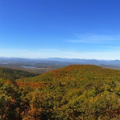 View from Pleasant Mtn