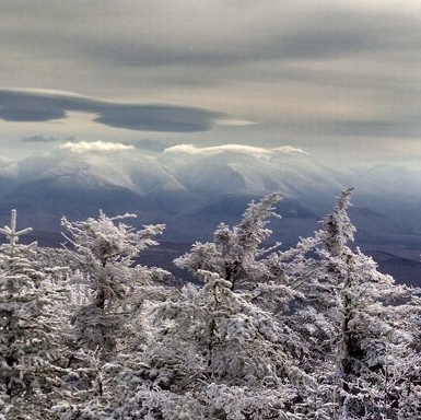 Star King Trail in Winter, Northern Presidentials