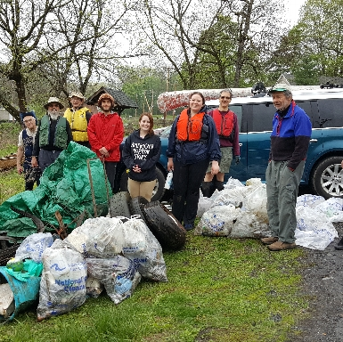 Lower Wappinger Creek Clean-up 2018