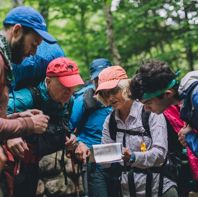 AMC Trains Outdoor Leaders