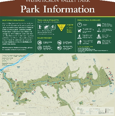 Wissahickon Trail Map