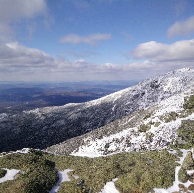 Franconia Ridge in Winter