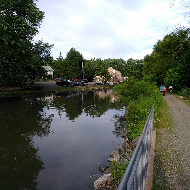 Phoenixville Canal by Fitzwater Station