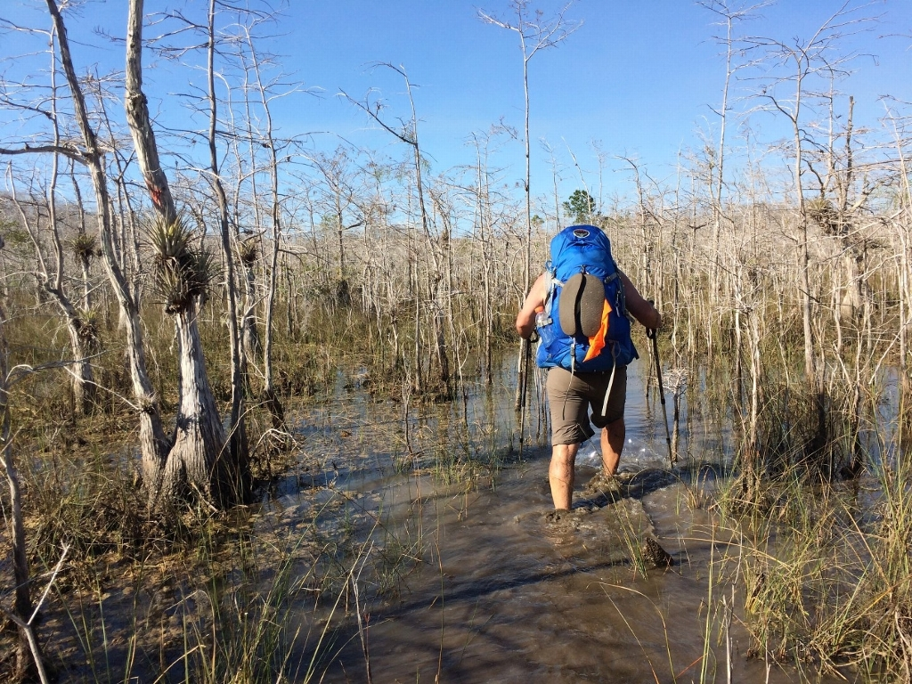 Carey on the FT in Big Cypress  National Preserve