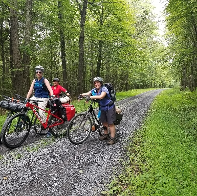 Bike-Packing in Rothrock State Forest PA