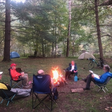 Camping at Pine Creek