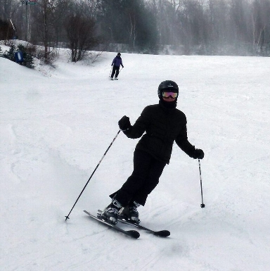 Skiing at Blue Mountain