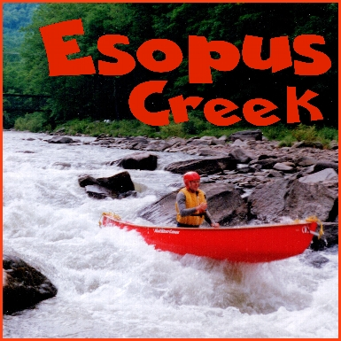 Marty on the Esopus in 1995
