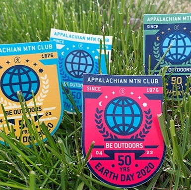 Earth Day 50th Anniversary Badges