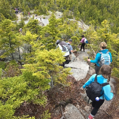 2016 Spring Hiking Program.  Welch-Dickey trip.